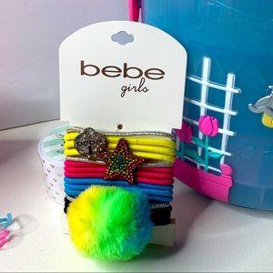 🔥5/$25🔥 BEBE pompom hair crumbs set